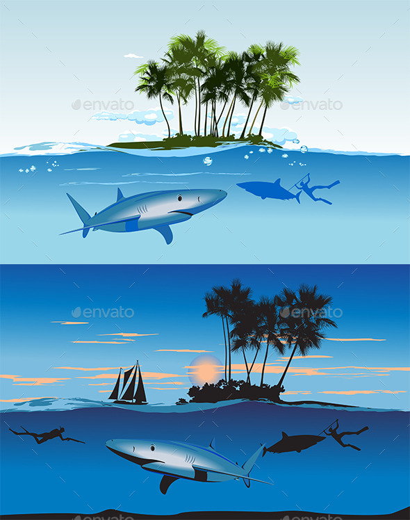Shark Island - Nature Conceptual