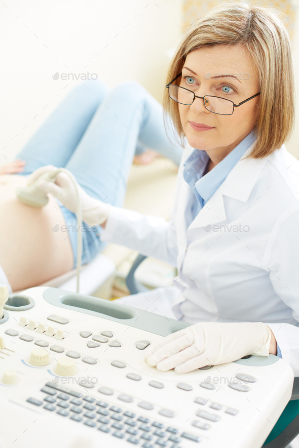 Serious doctor - Stock Photo - Images