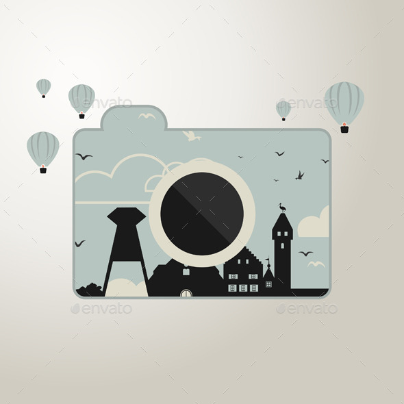 Photo Camera - Miscellaneous Vectors