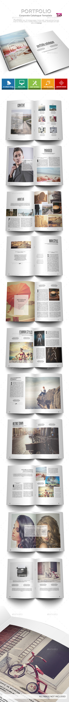 Portfolio - Business Portfolio Catalogue - Portfolio Brochures