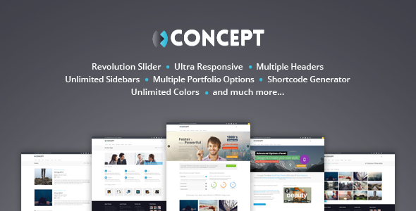 Concept - Multi-Purpose Wordpress Theme