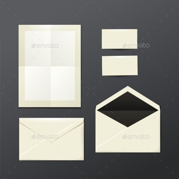 Postage Template - Objects Vectors