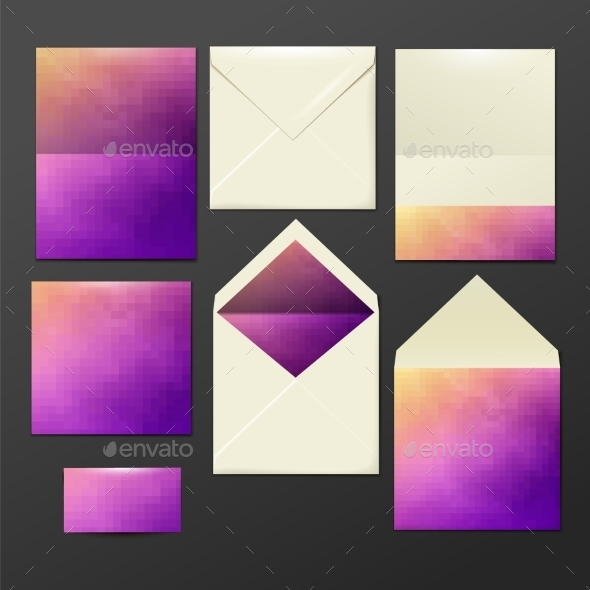 Corporate Identity Business Set - Objects Vectors