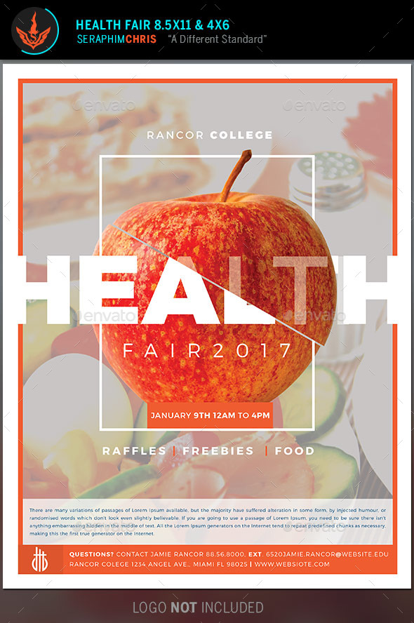 Health Fair Flyer Template by SeraphimChris | GraphicRiver