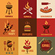 Barbecue Labels and Emblems Collection - GraphicRiver Item for Sale