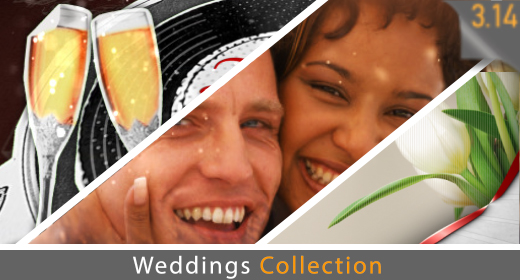 Weddings & Valentines Collection