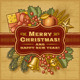 Merry Christmas Retro Card - GraphicRiver Item for Sale