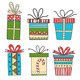 Set of Gift Packages - GraphicRiver Item for Sale