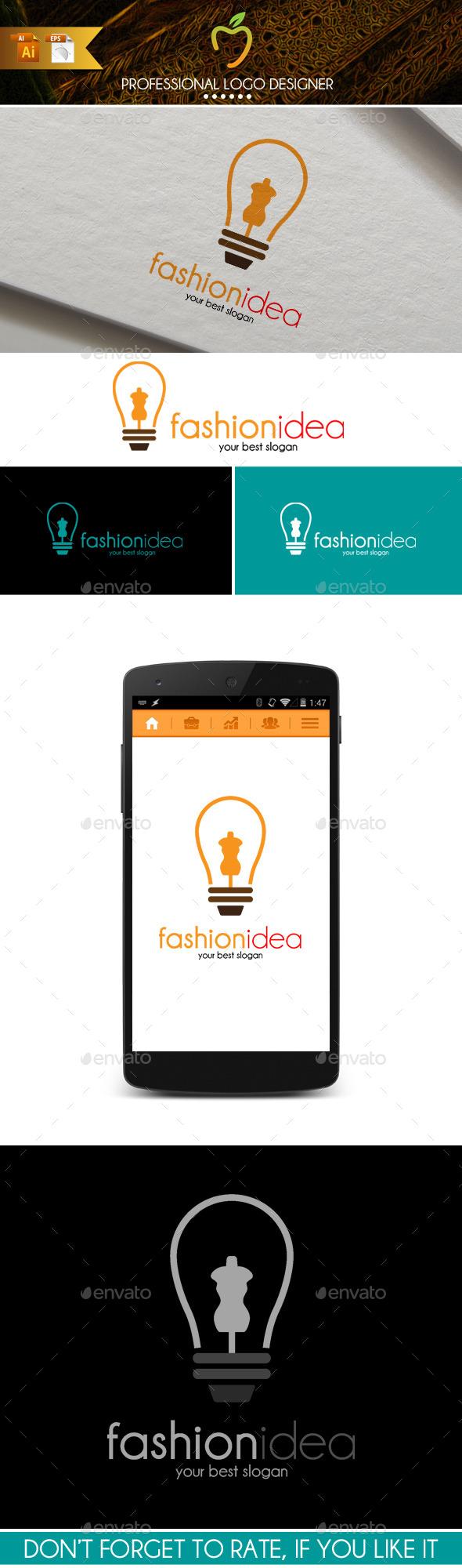 Fashion Idea Logo - Symbols Logo Templates