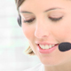 Beautiful Woman Working in a Call Center - VideoHive Item for Sale