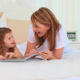 Lovely Lttle Girl Reading A Book - VideoHive Item for Sale