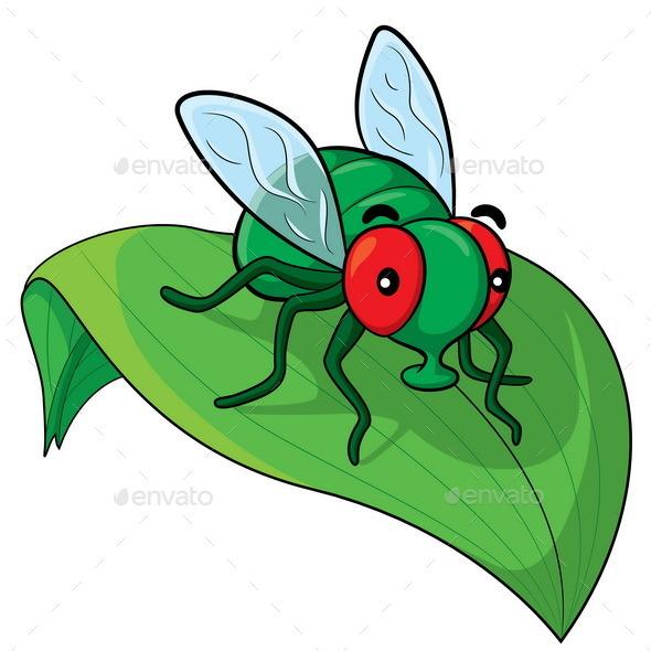 Fly Cartoon - Animals Characters
