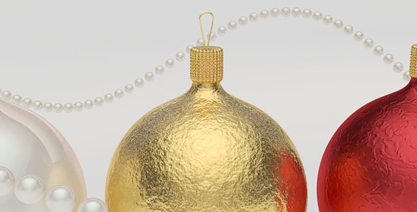Elegant Xmas Ball - 3DOcean Item for Sale