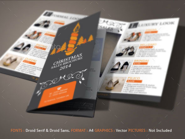Christmas Sales Brochure Template By BloganKids GraphicRiver - Sales brochure template