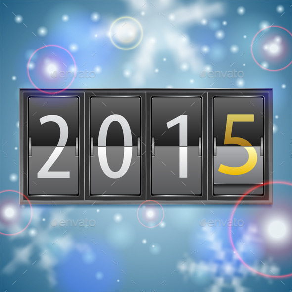 New Year 2015 on Mechanical Timetable - New Year Seasons/Holidays