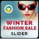 Winter Fashion Slider