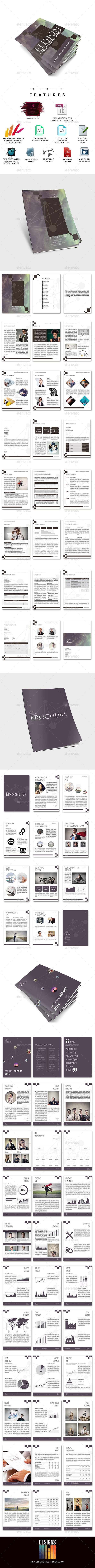 Elision Indesign Multi Business Proposals Bundle  - Proposals & Invoices Stationery