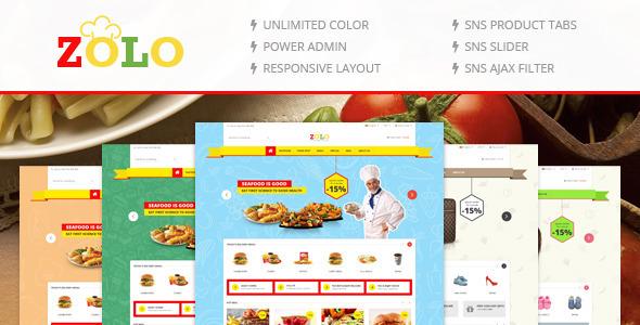 SNS Zolo – Responsive Multipurpose Magento Theme