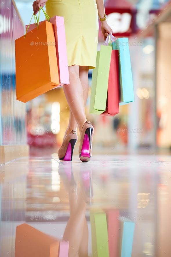 After shopping - Stock Photo - Images