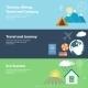 Tourism Concepts. - GraphicRiver Item for Sale