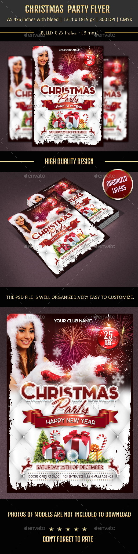 Christmas Party Template - Clubs & Parties Events