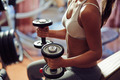 Training with dumbbells - PhotoDune Item for Sale
