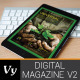 Digital Magazine Template - GraphicRiver Item for Sale