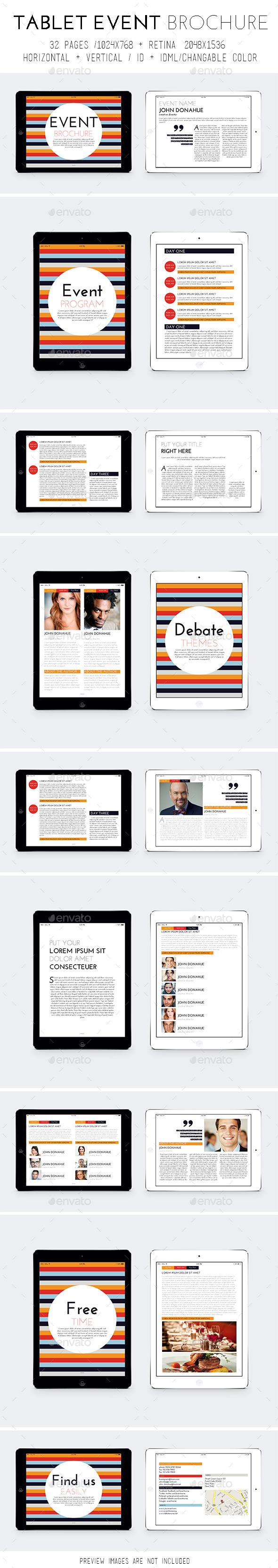 iPad & Tablet Event Template - Digital Magazines ePublishing