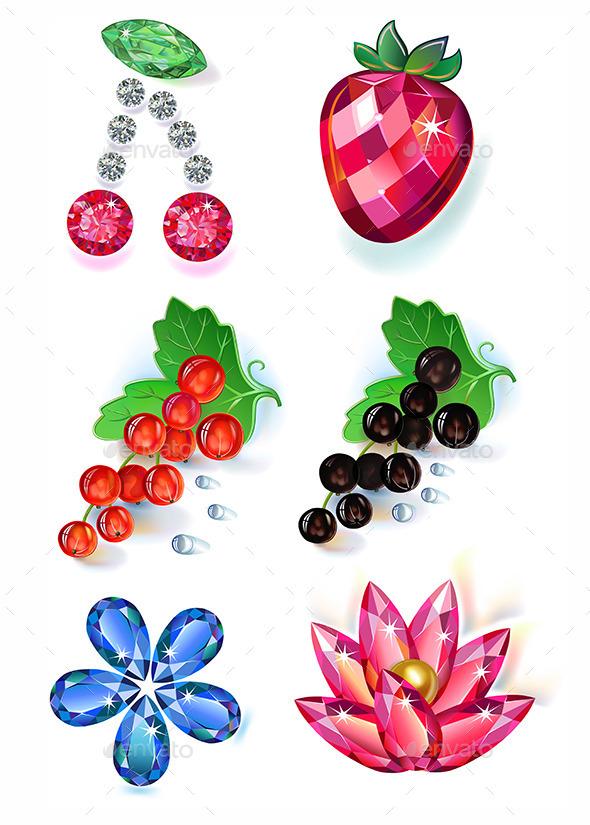 Gem Fruits - Flowers & Plants Nature