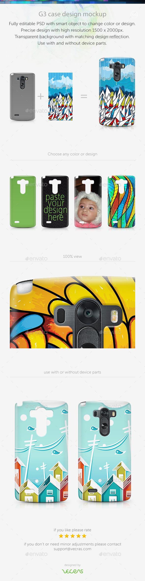 G3 Case Design Mockup