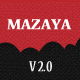 Mazaya Responsive WordPress News, Magazine Theme