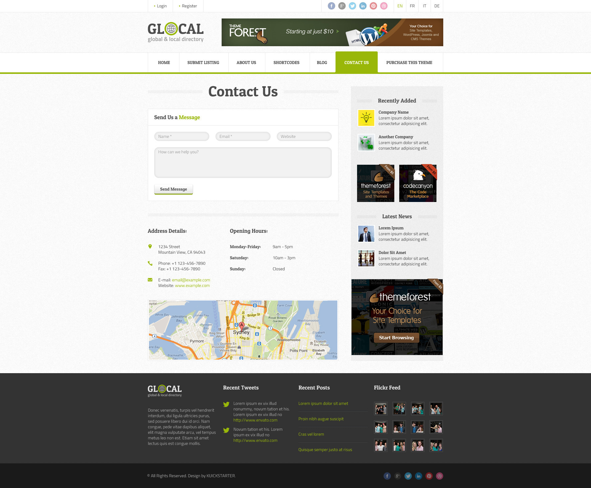 Glocal Responsive Directory Template By Directorythemes Themeforest