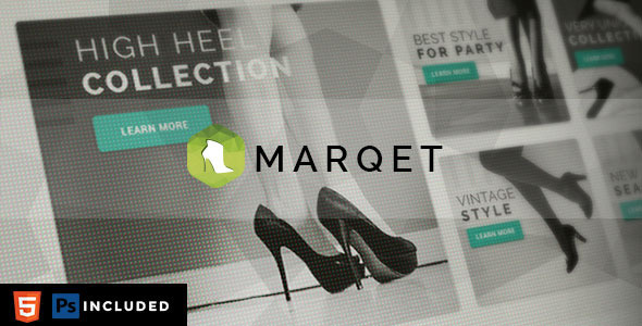 MarQet - Responsive eCommerce Template - Fashion Retail