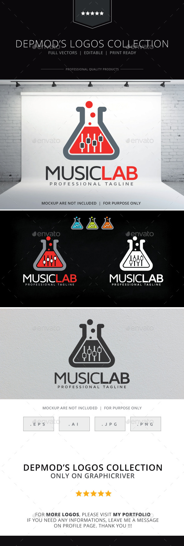Music Lab Logo - Symbols Logo Templates