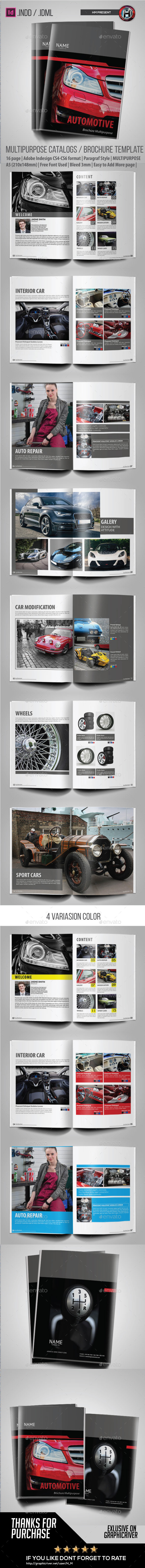 Catalogs / Brochure Automotive  - Catalogs Brochures