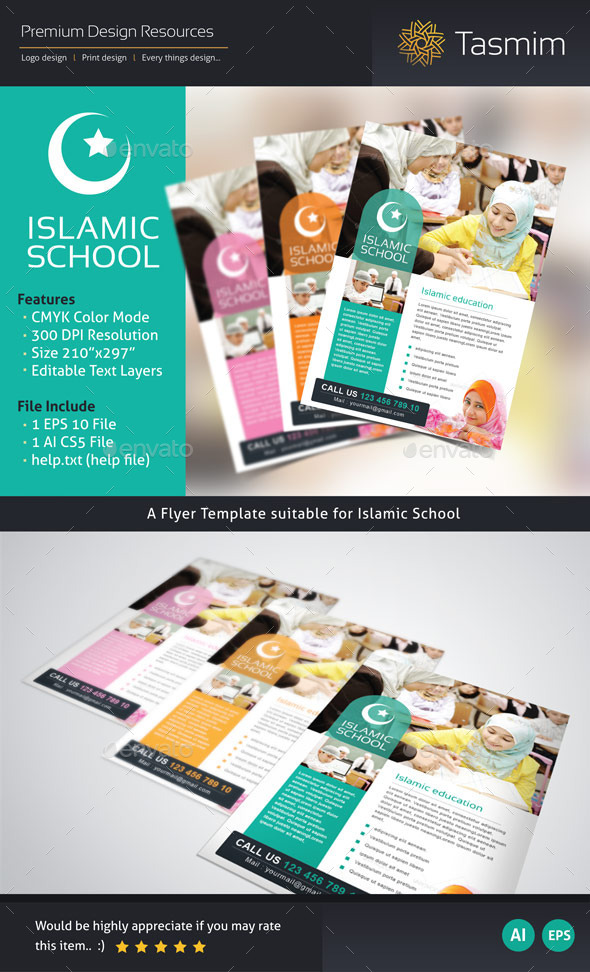 Islamic school Flyer - Corporate Flyers
