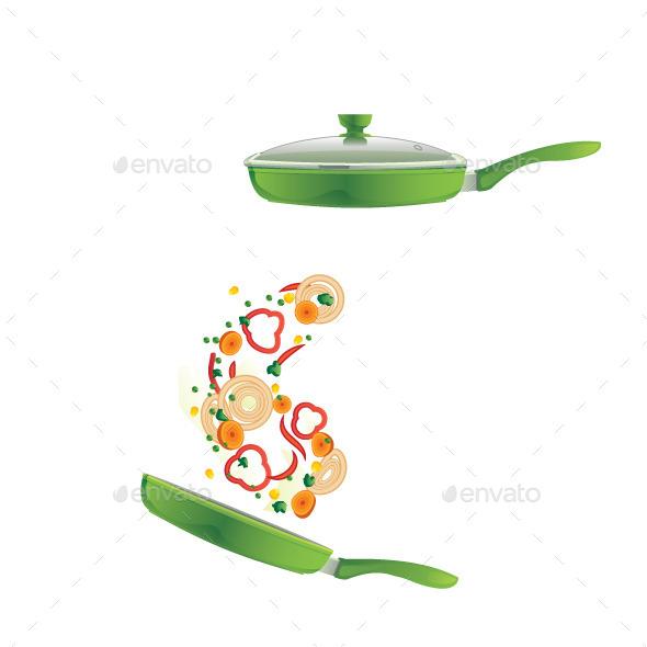 Frying Pan - Food Objects