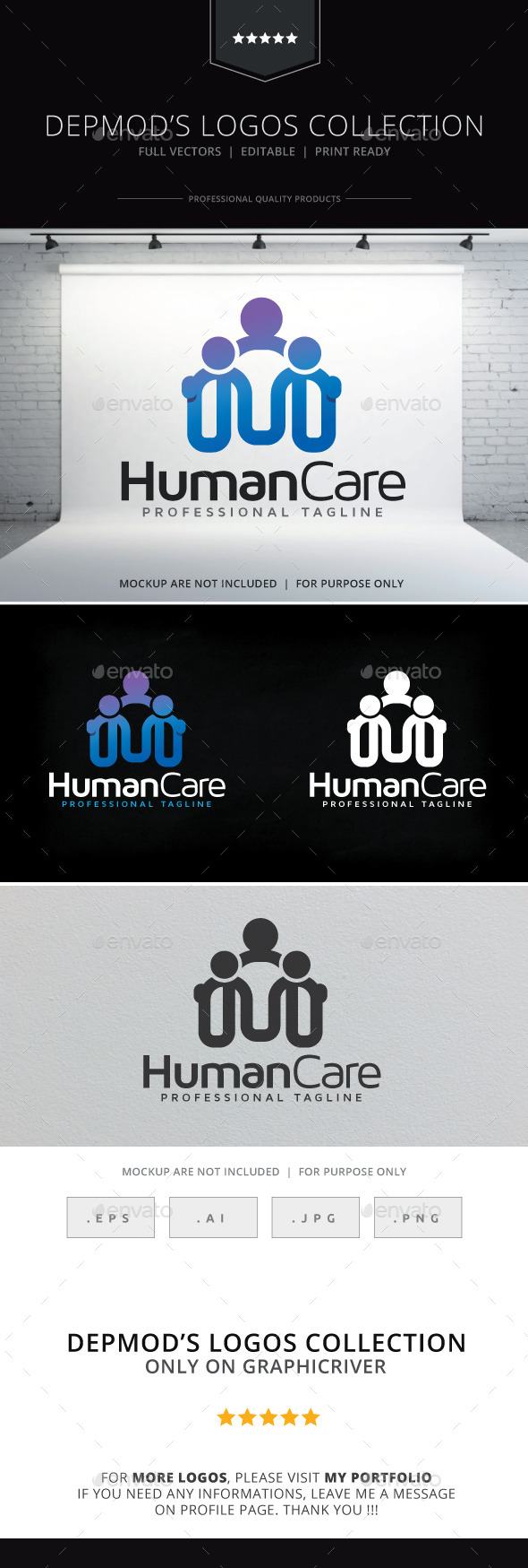 Human Care Logo - Humans Logo Templates