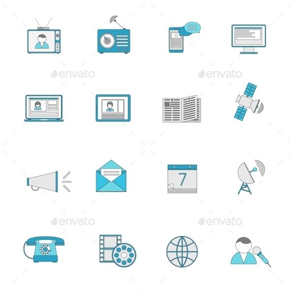 Media Icons  - Media Technology