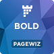 BOLD - Pagewiz App Landing Page Template - ThemeForest Item for Sale