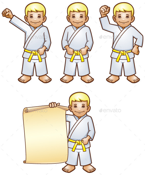 Karate Kid - People Characters