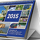 Desk Calendar 2015 - GraphicRiver Item for Sale