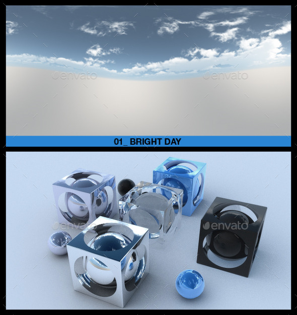 HDRI Sky Pack 1 - 3DOcean Item for Sale
