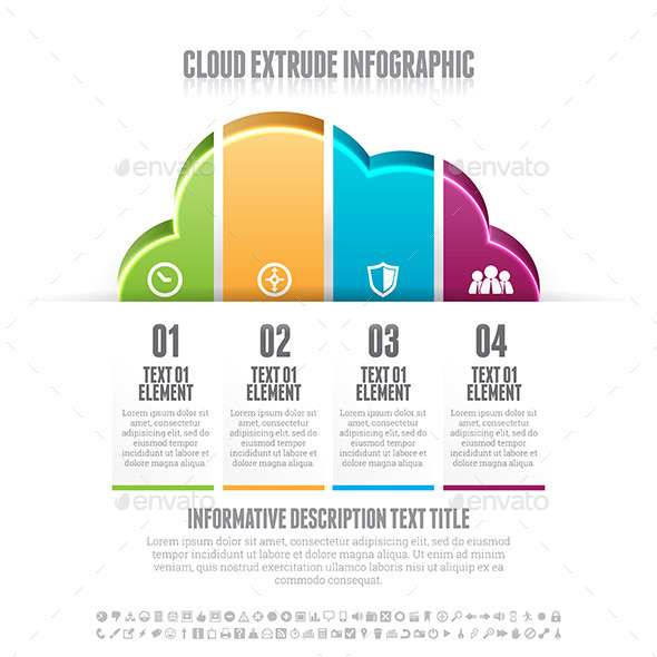 Cloud Extrude Infographic - Infographics