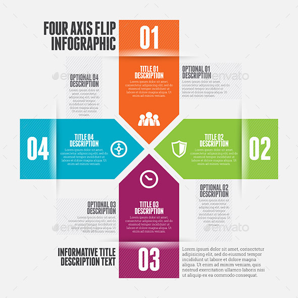 Four Axis Flip Infographic - Infographics