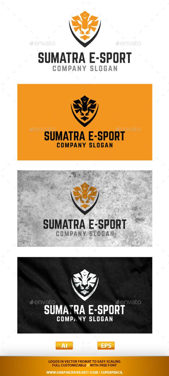 Sumatra E-Sport - Animals Logo Templates