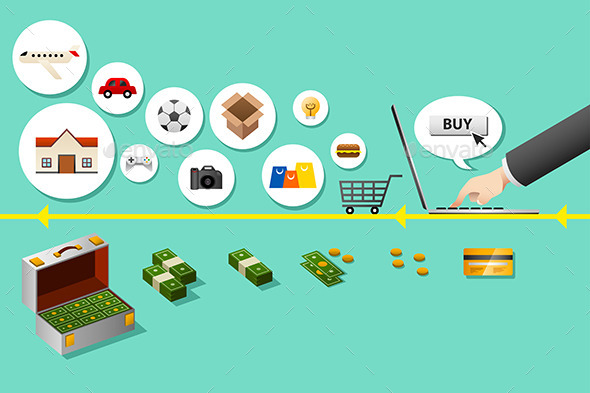 Internet Shopping Concept - Commercial / Shopping Conceptual