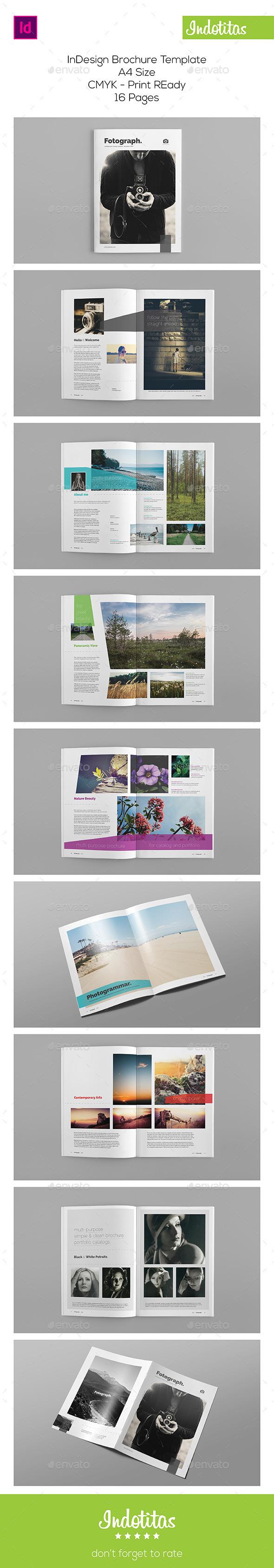A4 Portfolio Brochure - Portfolio Brochures