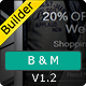 B&M - Responsive Email With Template Builder Nulled