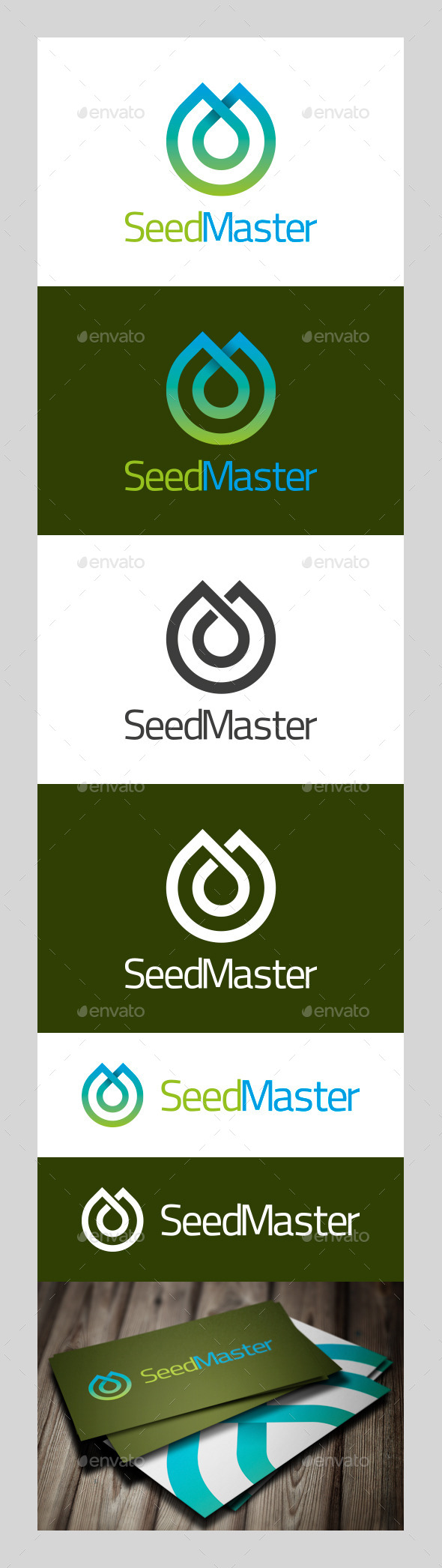 SeedMaster Logo - Nature Logo Templates